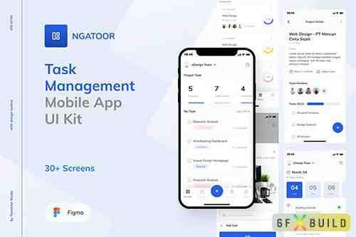 Ngatoor - Task Management UI Kit