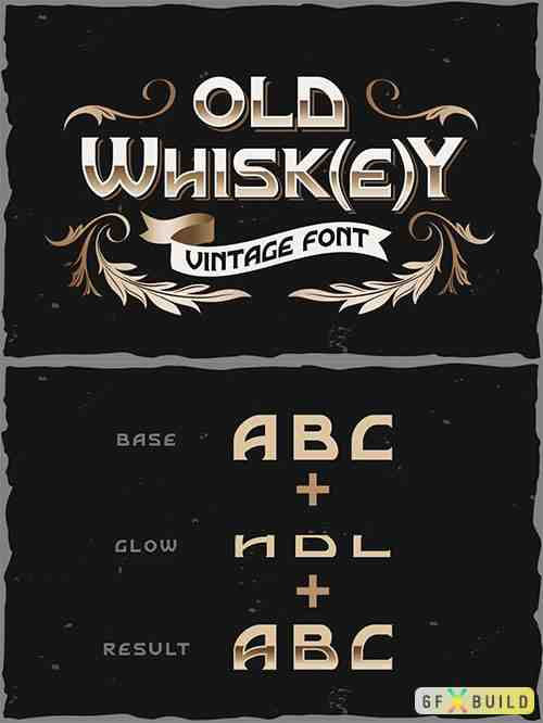 Old Whisk(e)y typeface 5937703