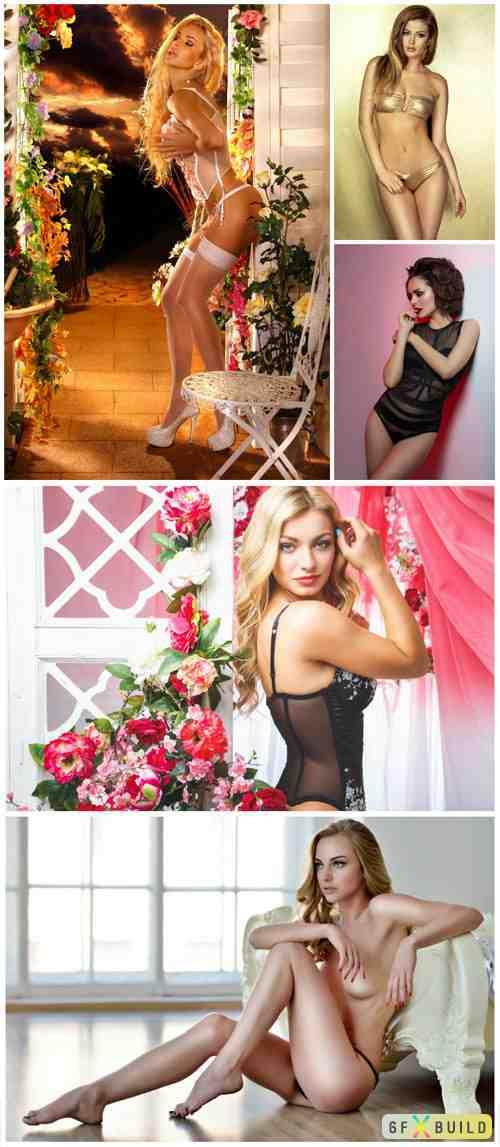 Women in lingerie, pretty girls vol 6