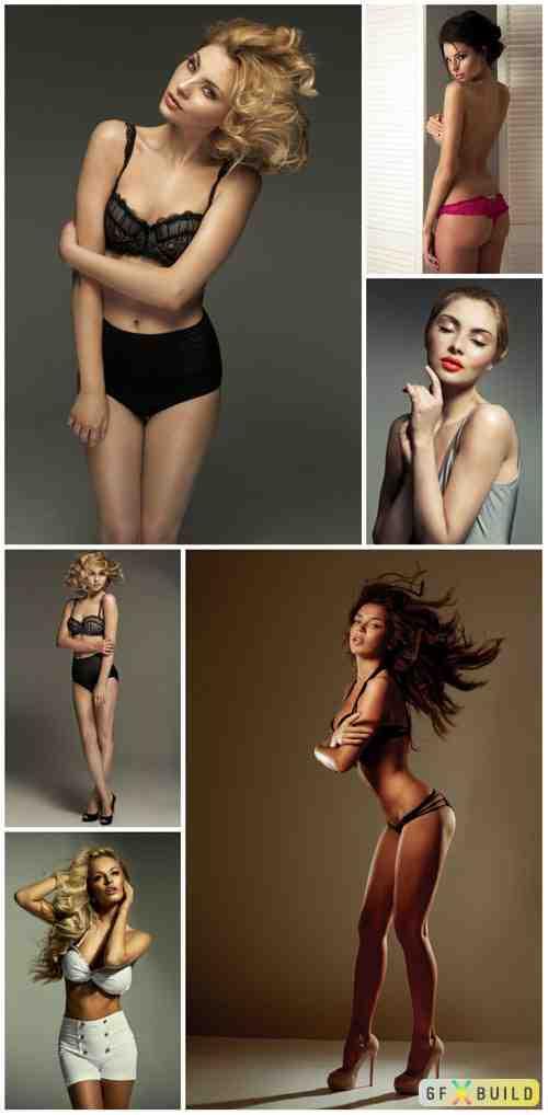 Women in lingerie, pretty girls vol 3