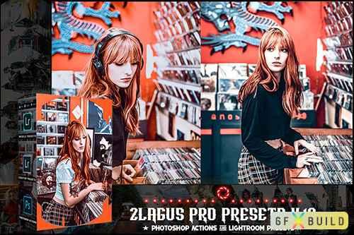 PRO Presets - V 18 - Photoshop & Lightroom