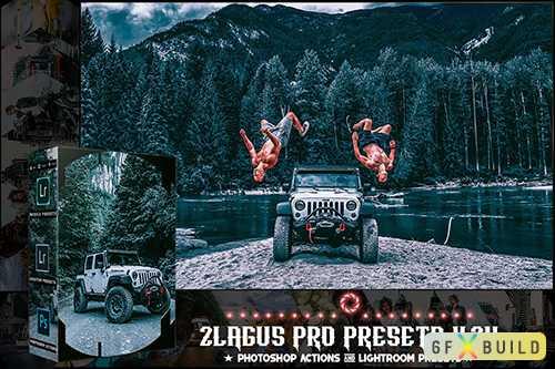 PRO Presets - V 24 - Photoshop & Lightroom