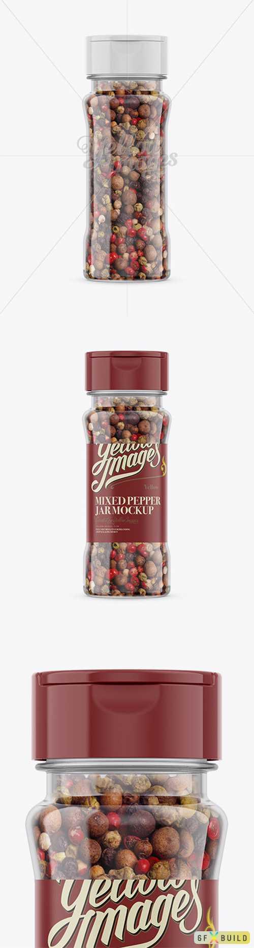 Mixed Pepper Jar Mockup 78509 TIF