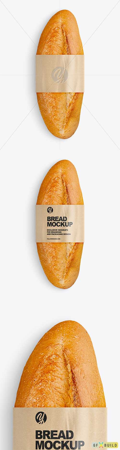 Bread with Label Mockup 76797 TIF