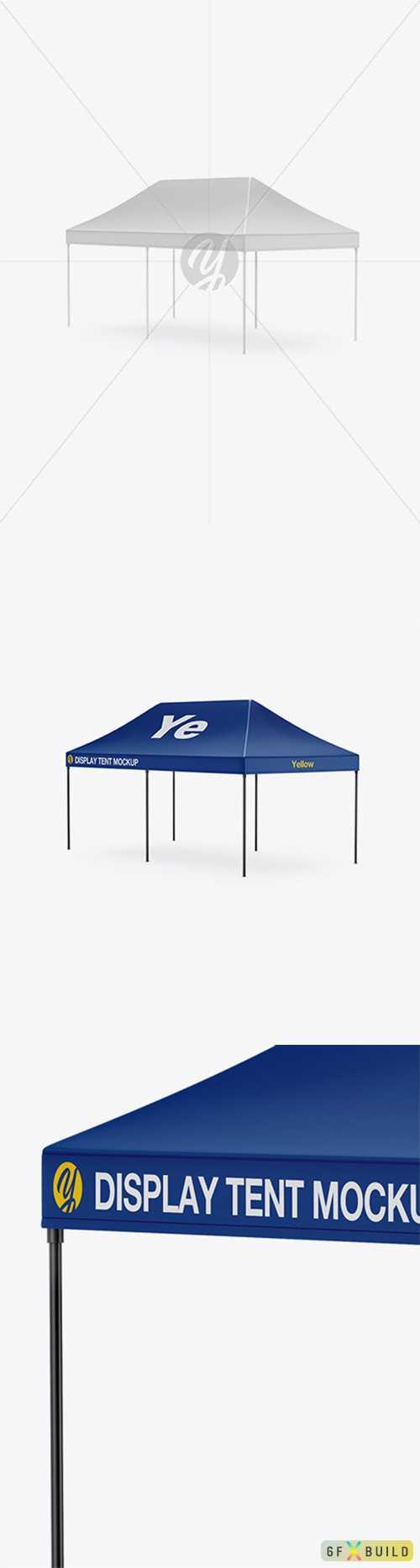 Display Tent Mockup 34840 TIF