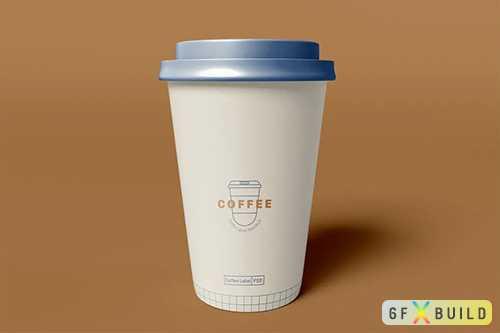 Take Away Coffee Cup Mockup XY2ZB6C