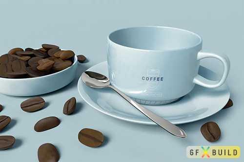 Coffee Mug Mockup XJSLUEF