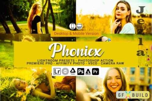 Phoniex Lightroom Presets and Photoshop Actions