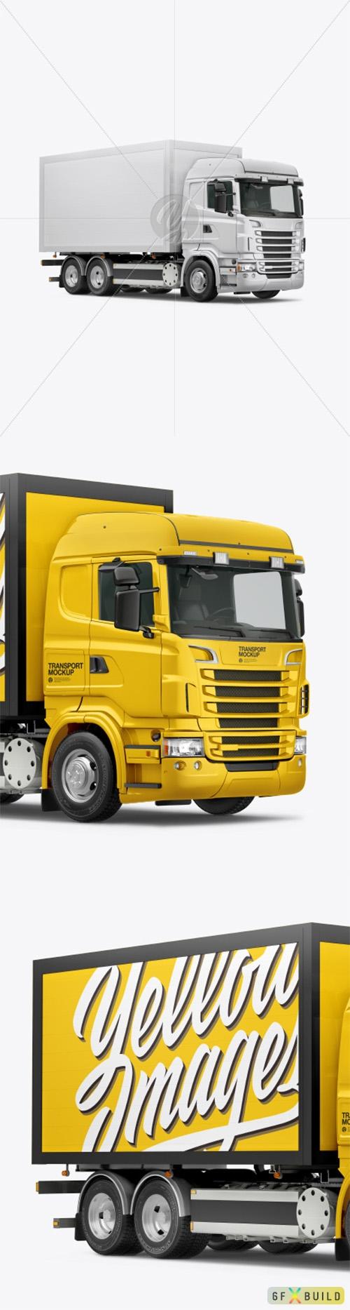 Truck Mockup - Half Side View 47175 TIF