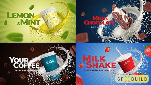 VideoHive - Coffee, Soda, Milkshake, Any Food 33096587