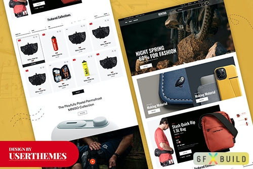 Rentra - Creative E-commerce Shopping Template