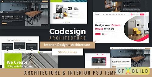 CoDesign - Architecture & Interior PSD Template