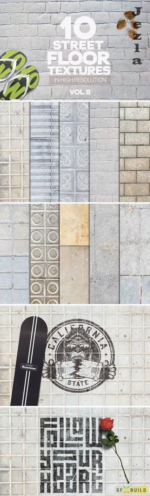 Street Floor Textures x10 Vol.5 - 6040943