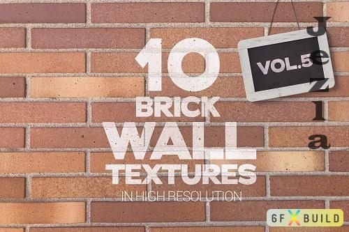 Brick Wall Textures x10 Vol.5 - 6337187