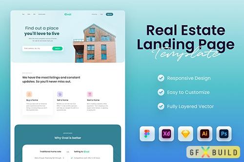 Real Estate & Property Landing Page