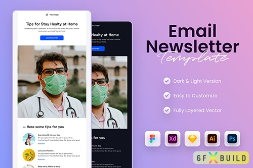 Healthcare Email Newsletter Template
