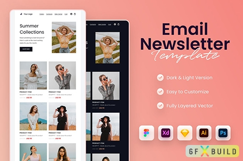 Minimal Email Newsletter Template