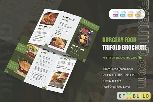 Burgery Food Trifold Brochure