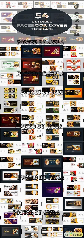 Facebook Cover Bundle - 54 Premium Graphics