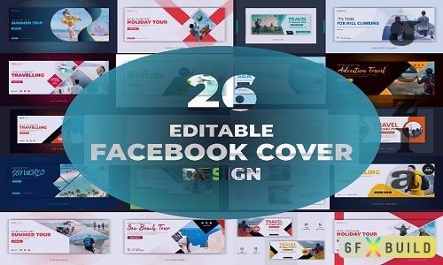 Facebook Cover Bundle - 26 Premium Graphics