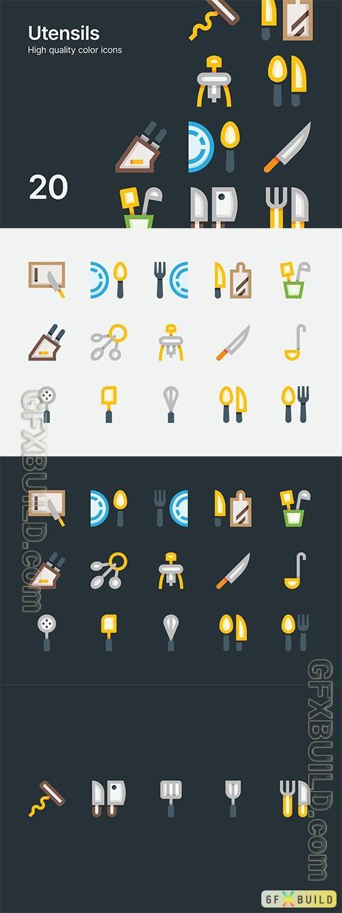 Vector Utensil Icons