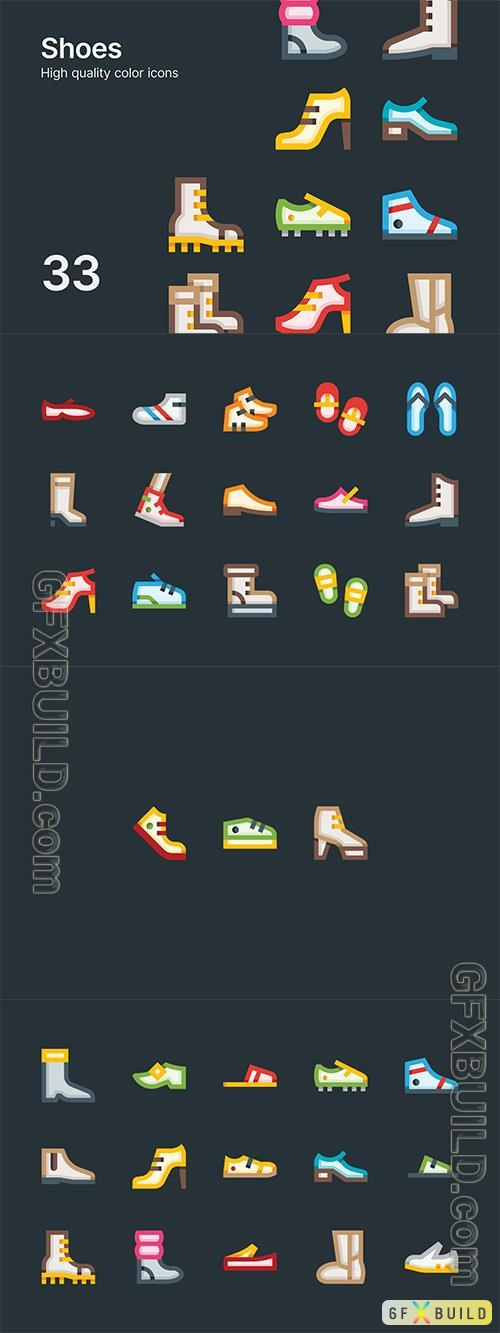 Vector Shoe Icons