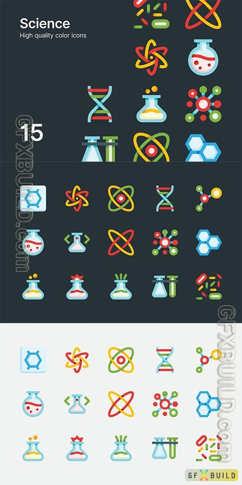 Vector Science Icons