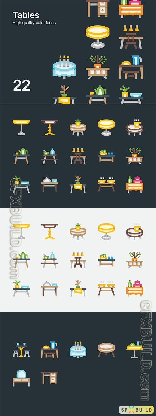 Vector Table Icons