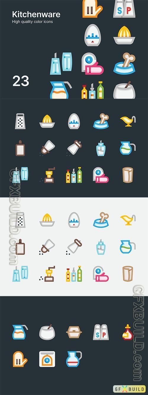 Vector Kitchenware Icons
