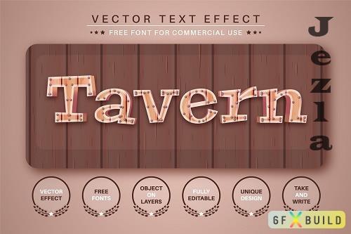 Tavern - Editable Text Effect - 6493979
