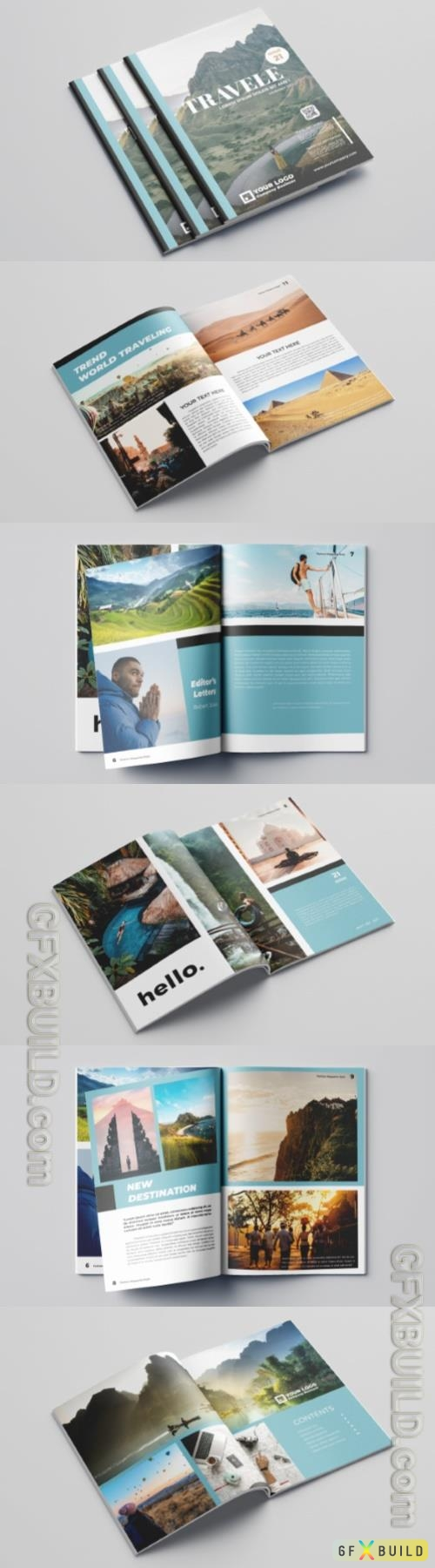 Travel Magazine Vol.1