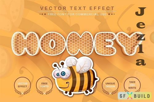 Honey - Editable Text Effect - 6507040