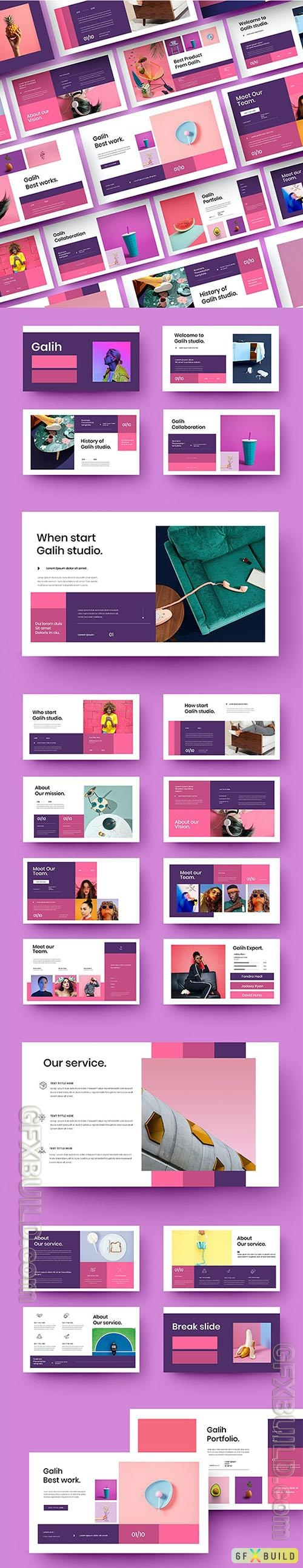 Galih - Business Powerpoint, Keynote and Google Slides Template