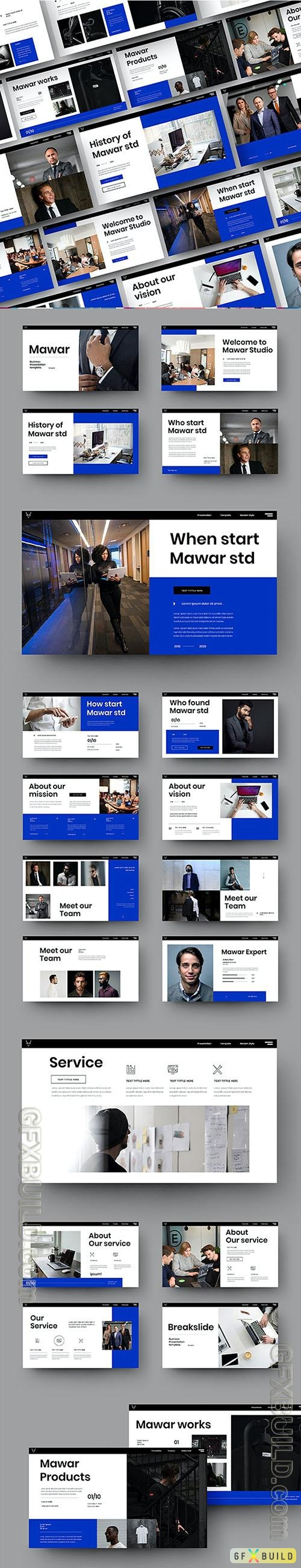 Mawar - Business Powerpoint, Keynote and Google Slides Template