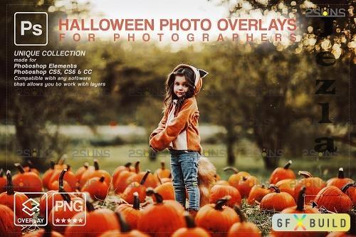 Halloween clipart Halloween overlay, Photoshop overlay V3 - 1583909