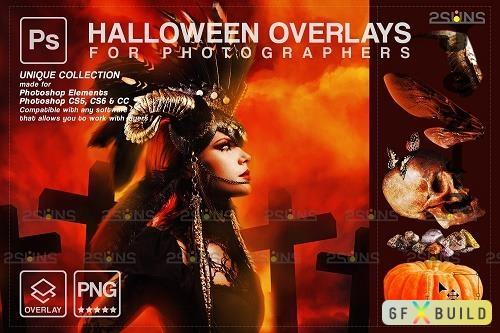 Halloween clipart Halloween overlay, Photoshop overlay V13 - 1584019