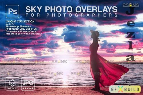 Sunset Sky Photo Overlays, photoshop V7 - 1583971