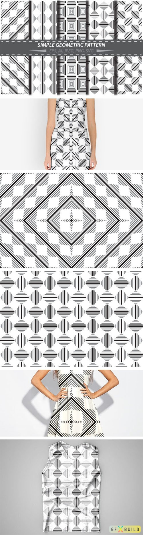 Geometric Patterns - Vector Shapes and Backgrounds