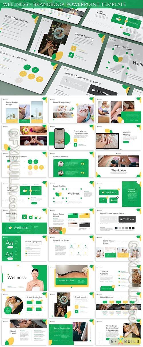 Wellness - Brandbook Powerpoint Template
