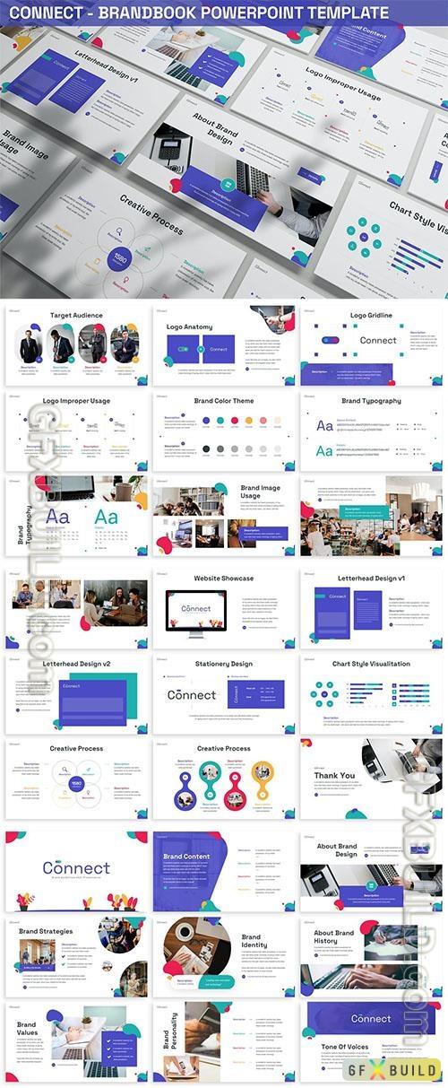 Connect - Brandbook Powerpoint Template