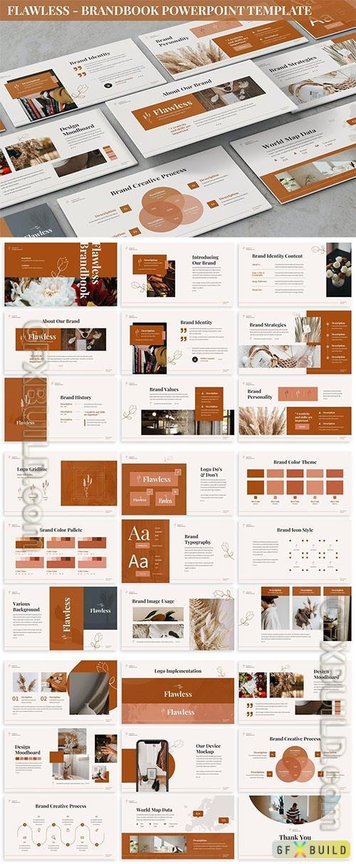 Flawless - Brandbook Powerpoint Template