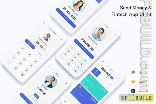 Send Money & Fintech App UI Kit