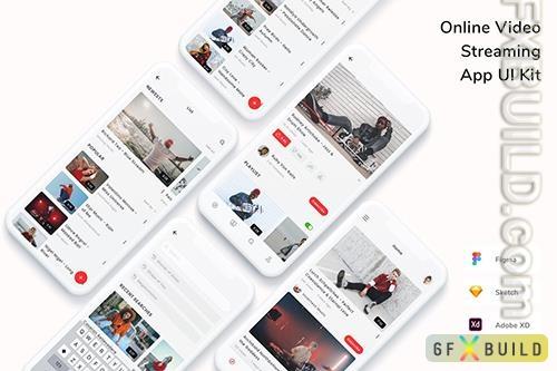 Online Video Streaming App UI Kit