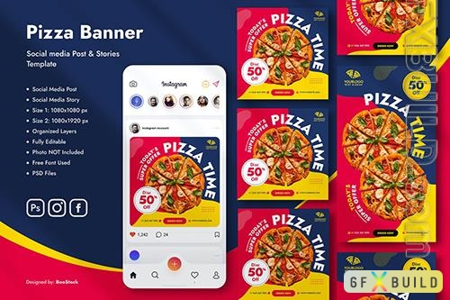 Pizza Social Media Template