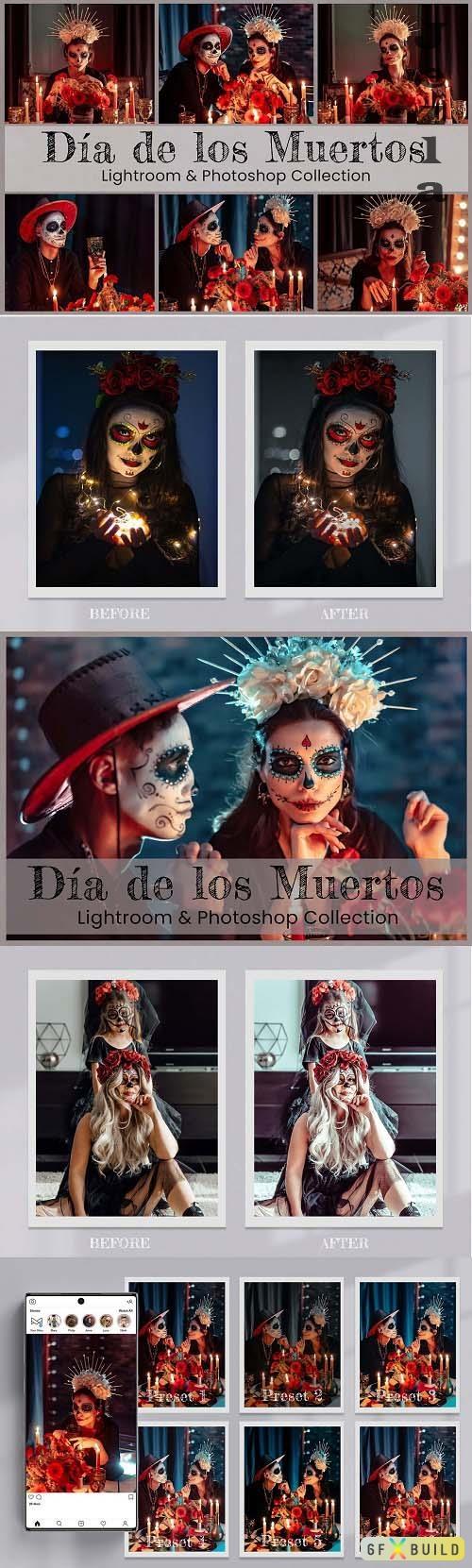 Dia de Los Muertos Lightroom PS LUTs - 6525741